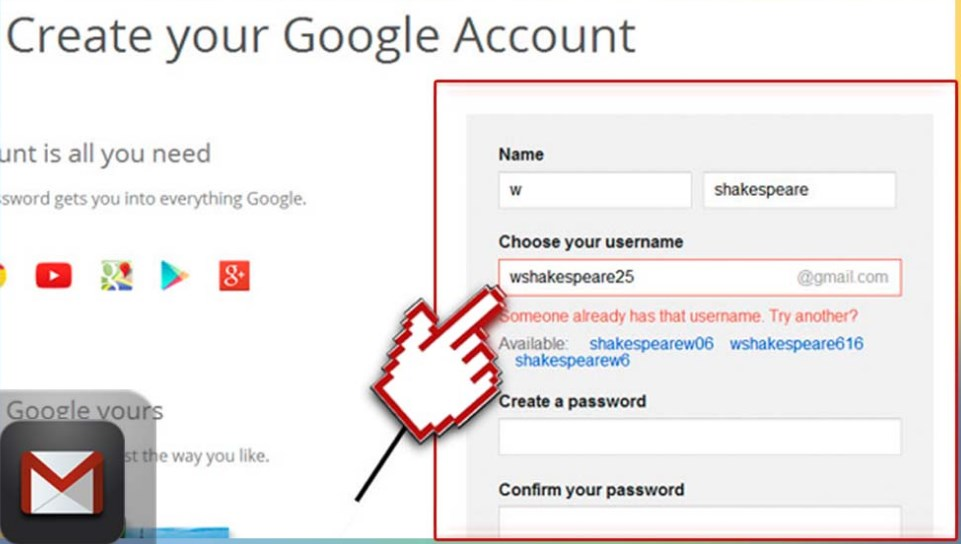 Image Result For Create Google Account Without Phone Verification
