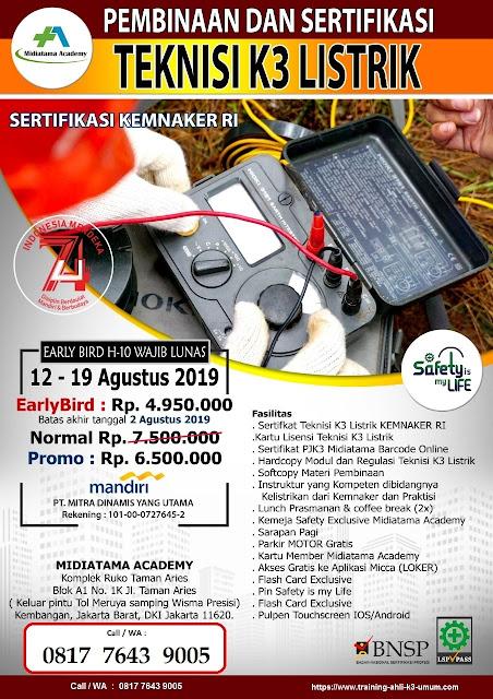 Teknisi-K3-Listrik-sertifikasi-kemnaker-tgl.-12-19-Agustus-2019-di-Jakarta