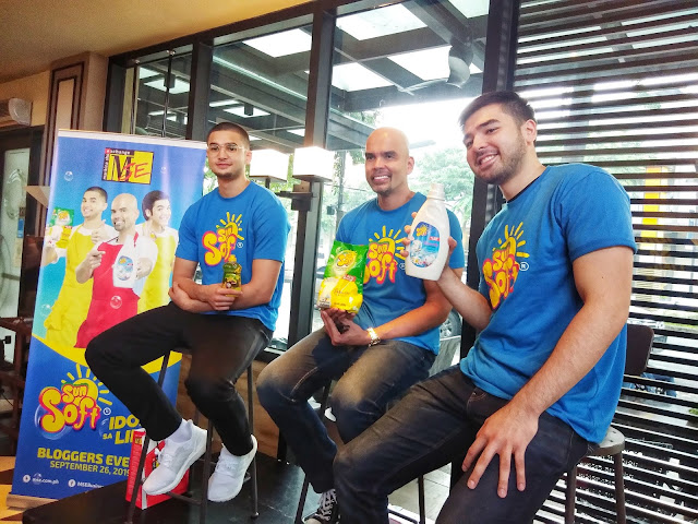 Benjie, Kobe, and Andre Paras for Sun Soft