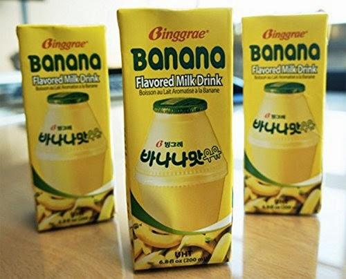 Korean Banana Milk (M'sia): Banana Milk Promotion