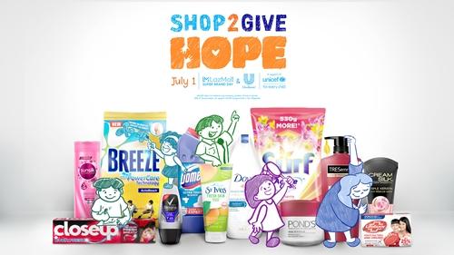 Unilever Shop2GiveHope