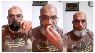 الشيخ محمد الهنتاتي يعلن اليوم أول أيام العيد و يفطر على المباشر (فيديو)