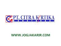Lowongan Kerja Kulon Progo Administrasi Keuangan Lulusan SMK Akuntansi di PT Citra Kartika Konstruksi