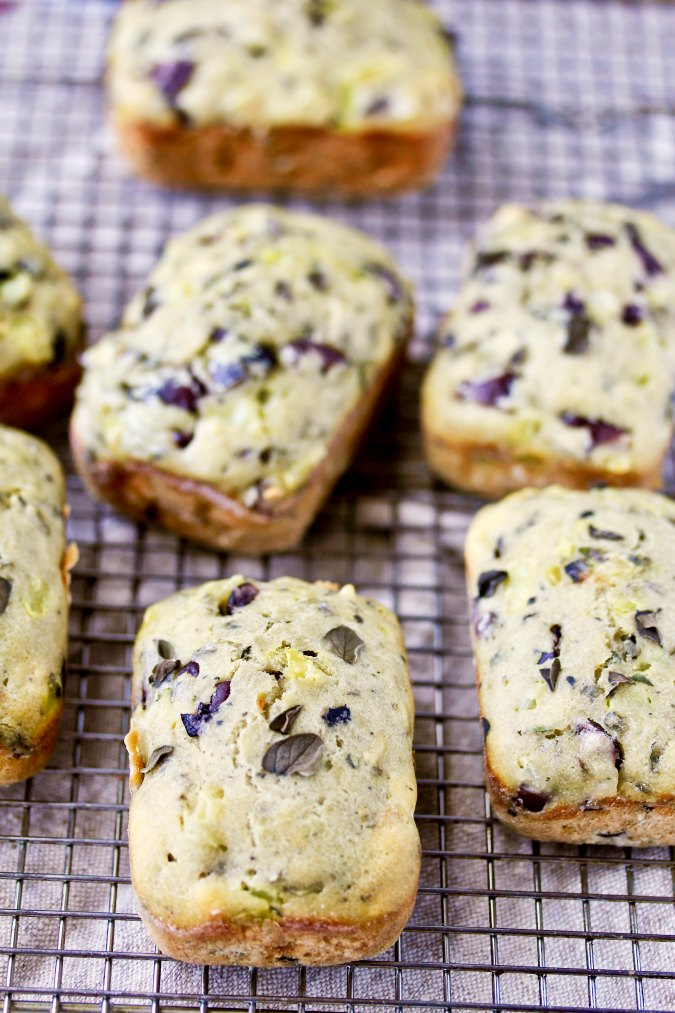 Olive and Oregano Mini Loaves