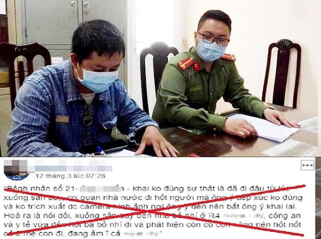 """Đưa tin bệnh nhân Nguyễn Quang Thuấn - Covid-19 có """"bồ nhí, con riêng"""" thanh niên bị triệu tập"""