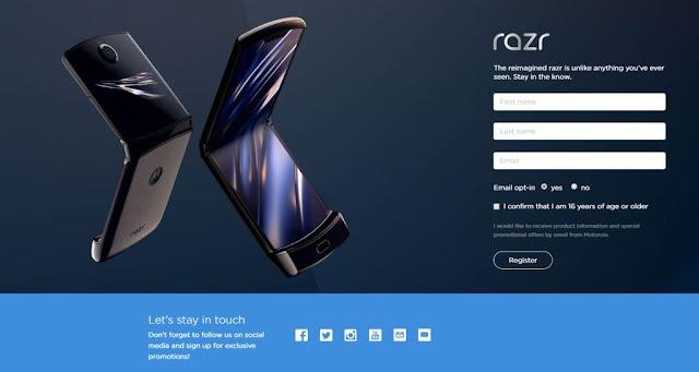 Pre-Order Motorola Razr Phone Sudah Dibuka, di Indonesia?