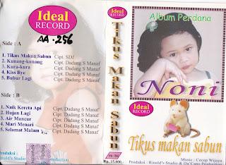 noni album tikus makan sabun www.sampulkasetanak.blogspot.co.id
