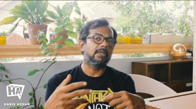 Haris Azhar: Penggiringan Opini Tolak UU Ciptaker ke MK Settingan Istana!