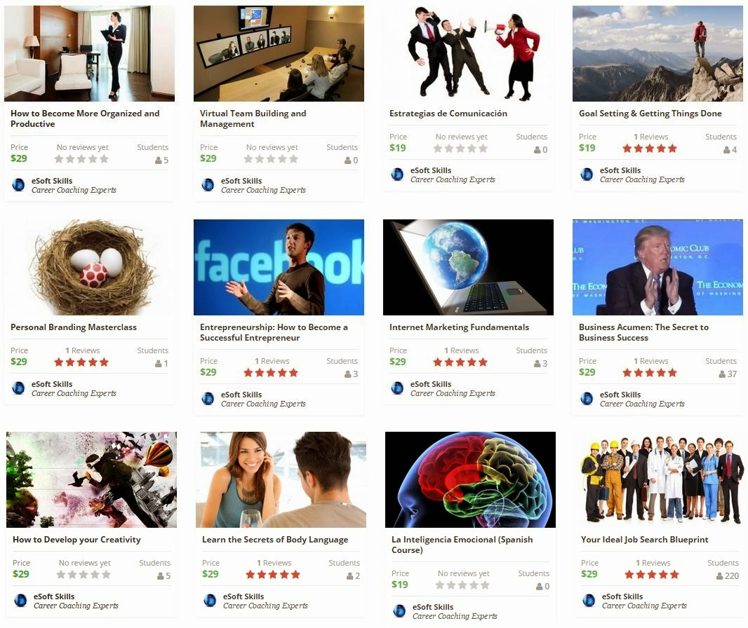 10 Courses From Esoft Skills For 100 Off Free