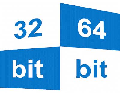 Memahami perbedaan antara windows 32 bit dan windows 64 bit