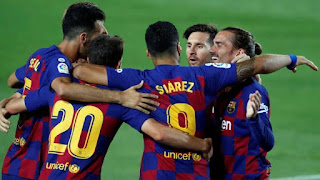 Video highlight Barcelona 1-0 Espanyol Antoine Griezmann shines again in barca win