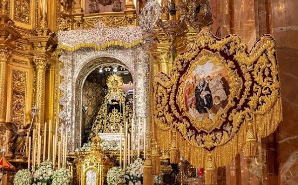 La Macarena estrena una nueva insignia en el día de su 425 aniversario fundacional