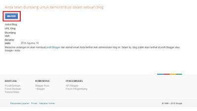 Cara Menambah, Mengganti, atau Menghapus Admin Blogspot