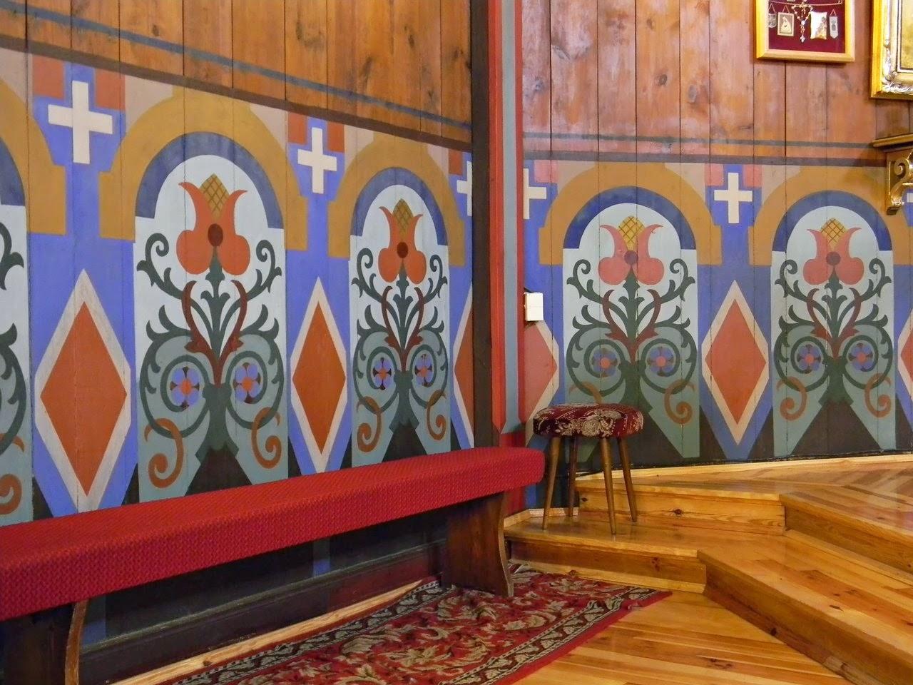 Bukowiec, wzory, drewniana świątynia