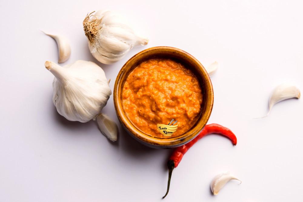 Lahsun ki Chutney Recipe in Hindi
