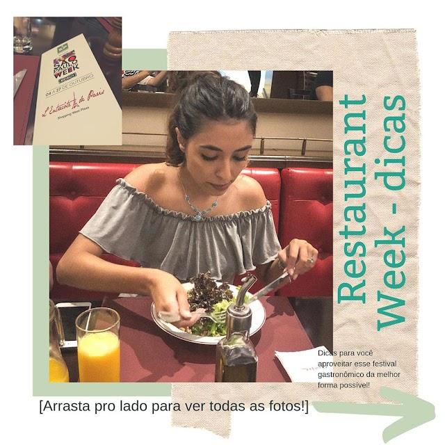 Restaurant Week, conheça e economize - fui ao L'Entrecôte de Paris