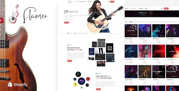 Best Online Music Store Shopify Theme