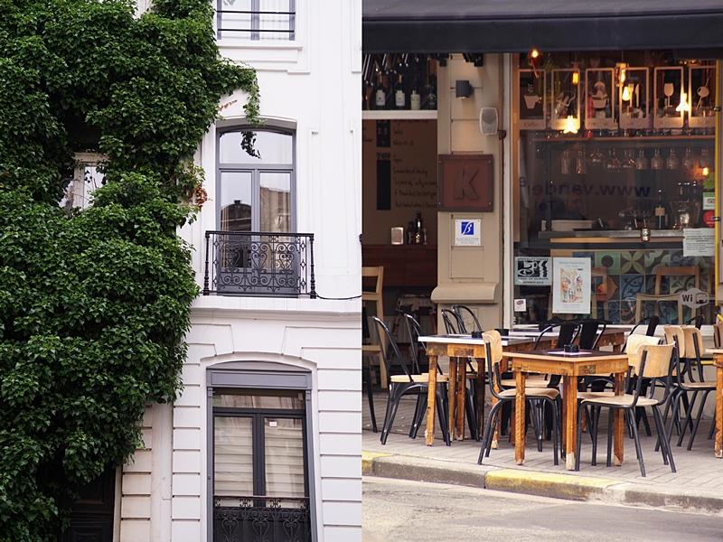 Innenstadt Brüssels mit tollen Fassaden, Häusern, Restaurants und mehr