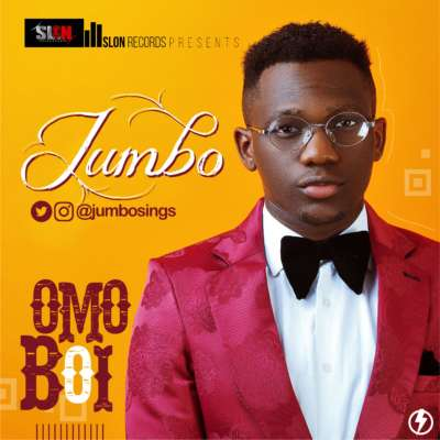 Young and promising music artiste,  Olawale Michael Ogunleye known as JUMBO , recently made his entrance into the music scene with a new single titled 'Omo Boi' .  The song is an afro street song  which is enjoying Air Play at different clubs and also on Radio Stations. Produced by Mystro Beats , Omo Boi inspires the youth to think and bring out their innate abilities to work.  Jumbo who studied Computer Science at the National Open University of Nigeria , along with his management, Slon Records, plans to make a great impression in the industry.  Jumbo Started Music in his Early 20s, as a choir member and got into studio production fully in 2011, has three singles to his credit namely 'Good Life', Oreke and 'Ariya'.  He just got  signed up to Slon Records make and penned a management deal with M4 Synergy Limited , and they are all set to create the platform that will help him make a name in the music industry.