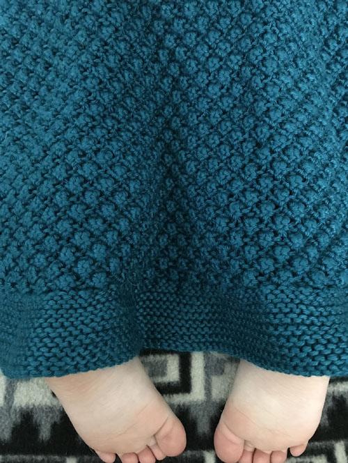 Bramble Baby Blanket - Free Pattern