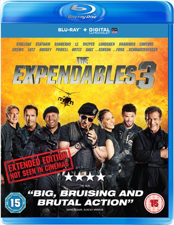 The Expendables 3 (2014) Dual Audio Hindi BluRay 400MB