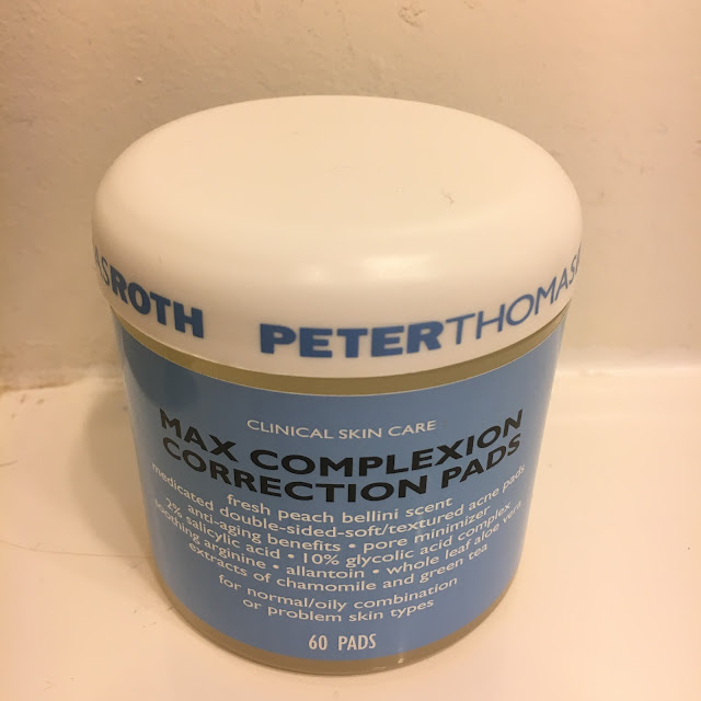 Peter Thomas Roth, Peter Thomas Roth Clinical Skin Care Max Complexion Correction Pads, acne, skincare, acne pads