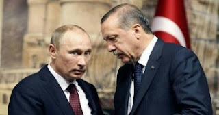 أردوغان وبوتين يبحثان سبل التعاون في مكافحة كورونا والمستجدات في سوريا وليبيا