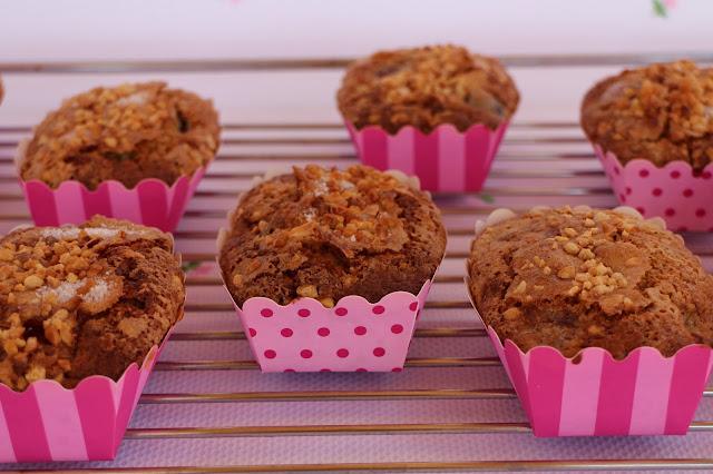 muffins-de-cerezas, cherry-muffins