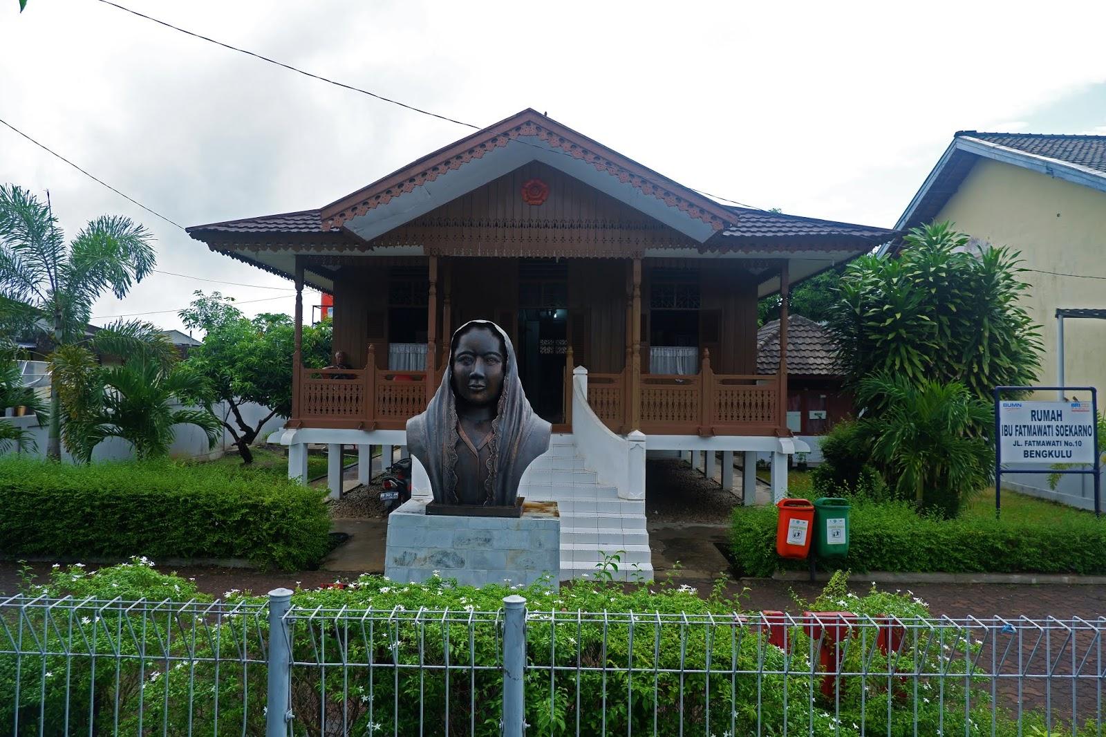 rumah fatmawati bengkulu