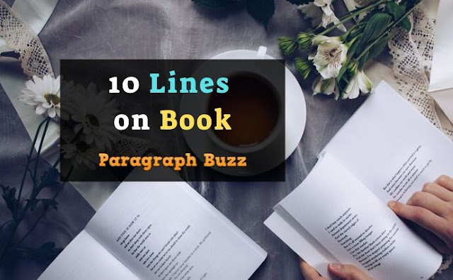 10 Lines on Book in English