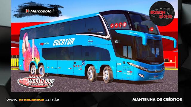 PARADISO G7 1800 DD 8X2 - VIAÇÃO EUCATUR AZUL