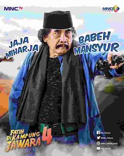 Jaja Mihardja Syuting Fatih di Kampung Kampung Pemeran Babeh Mansyur