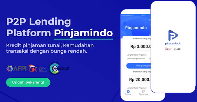 Pinjamindo ini, adalah salah satu aplikasi pinjaman online yang banyak difavoritkan oleh para peminjam. Salah satu sebabnya adalah karena apk pinjamindo ini bisa dibilang salah satu apk pinjol yang gampang cair.