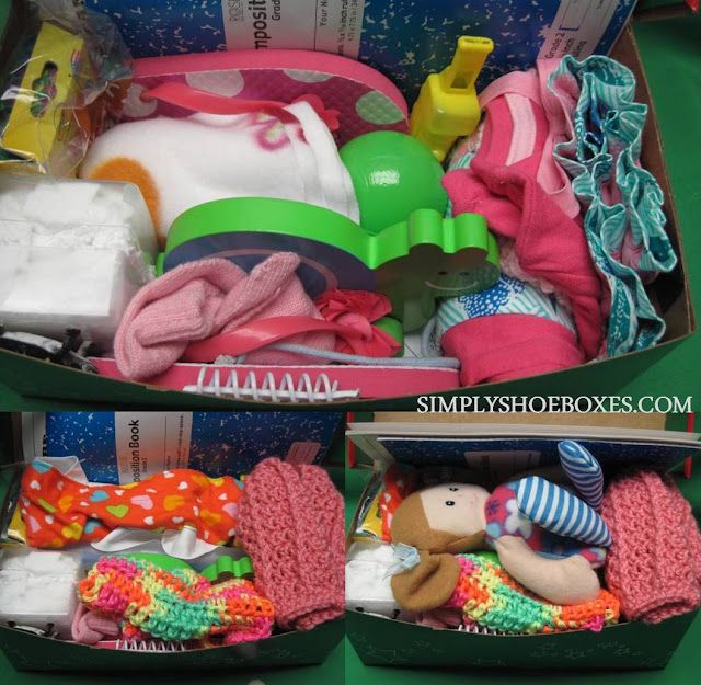 Packing 2-4 shoebox OCC