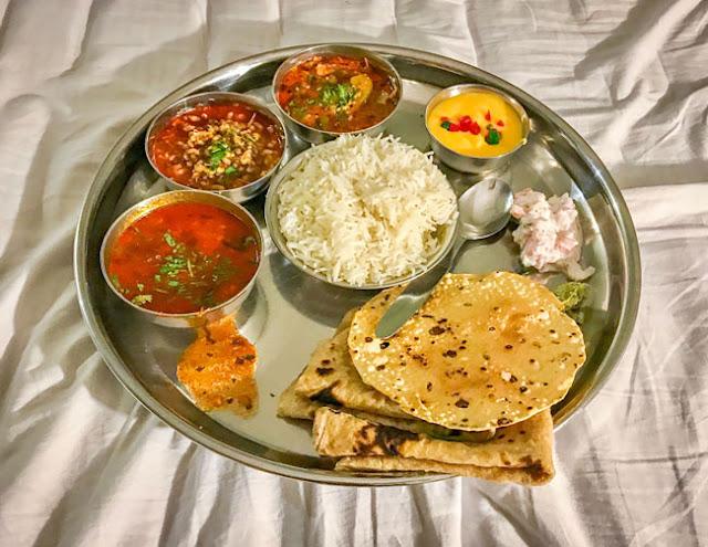 kolhapuri thali vegetarian