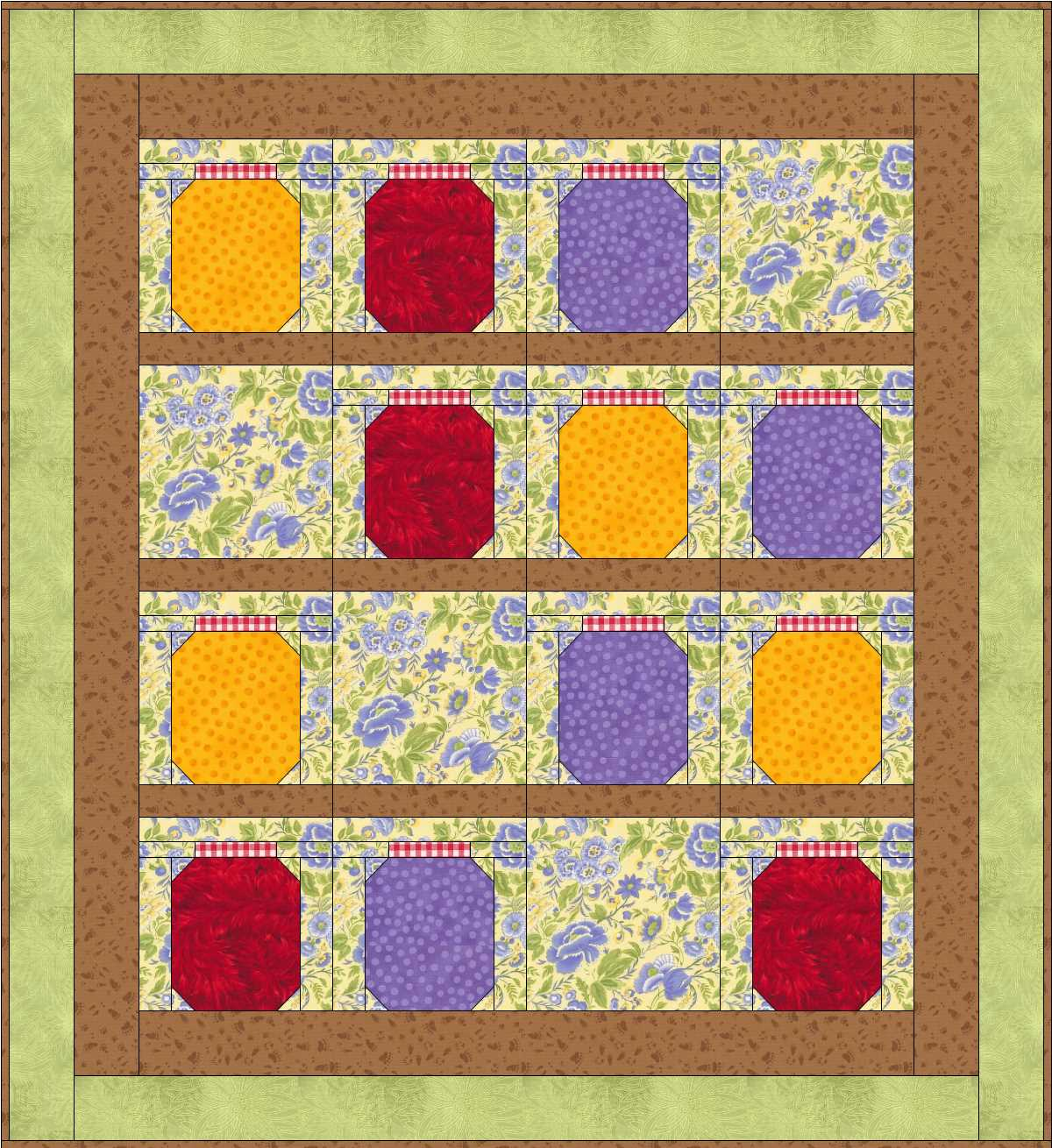 CUT, STITCH + PIECE | Monica Curry Quilt Designs: FREE PATTERN: Jam ...