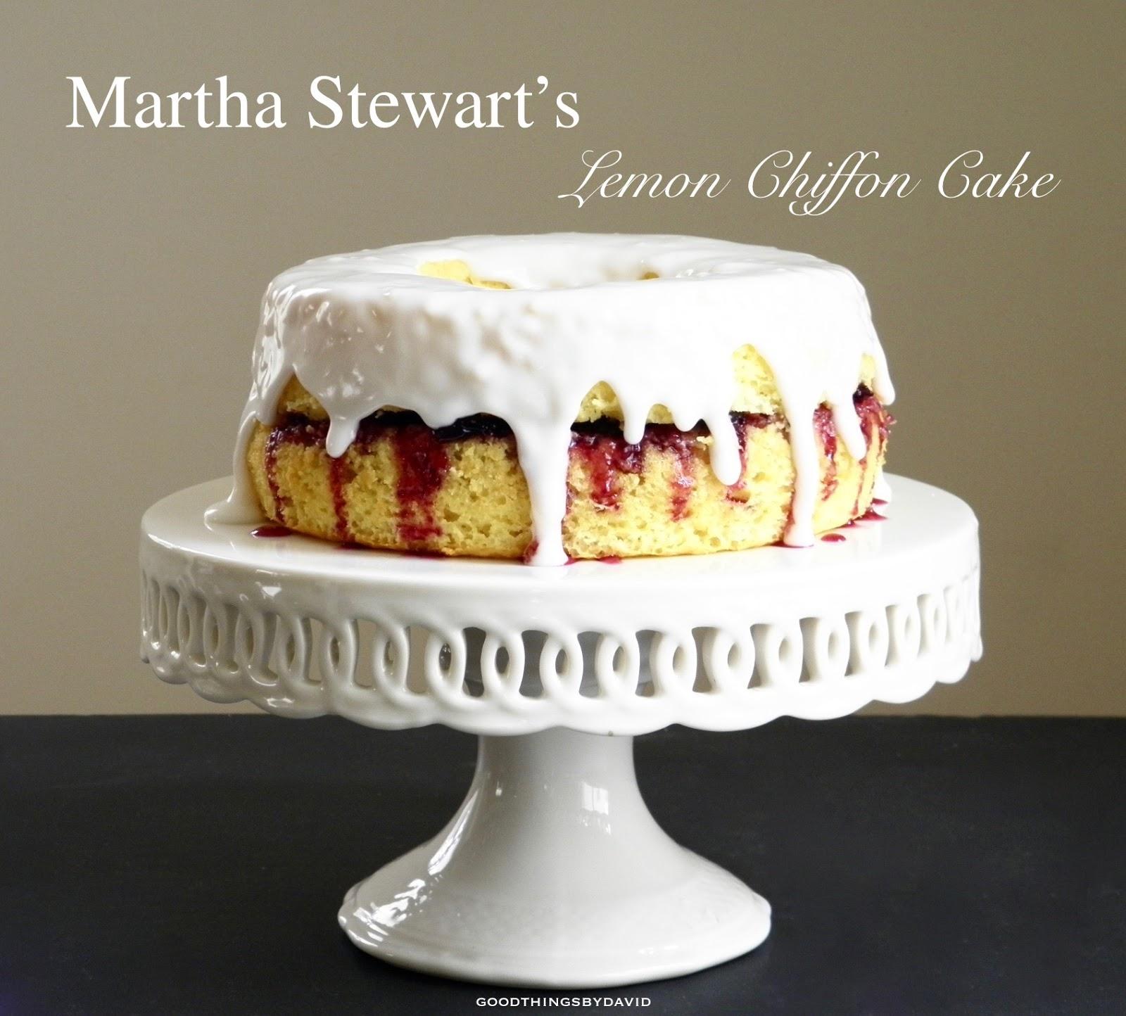Orange Sponge Cake Recipe Martha Stewart