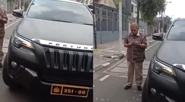Bukan Palsu, Pelat Polisi di Mobil Fortuner Ternyata Milik Perwira Mabes Polri