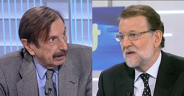 Antonio Papell y Mariano Rajoy