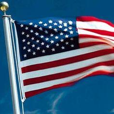 United States of America Flag Hoisting