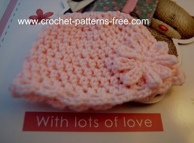 free crochet pattern-newborn-preemie-hats