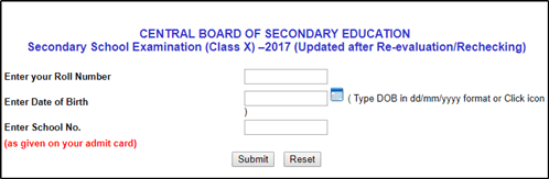 cbse board result date