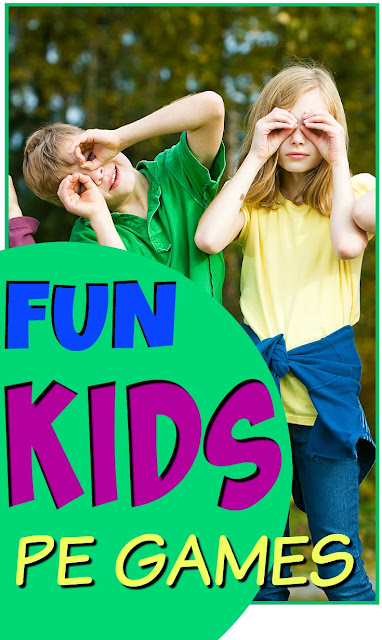 Fun PE Games for Kids: PE Activities Gym Exercise