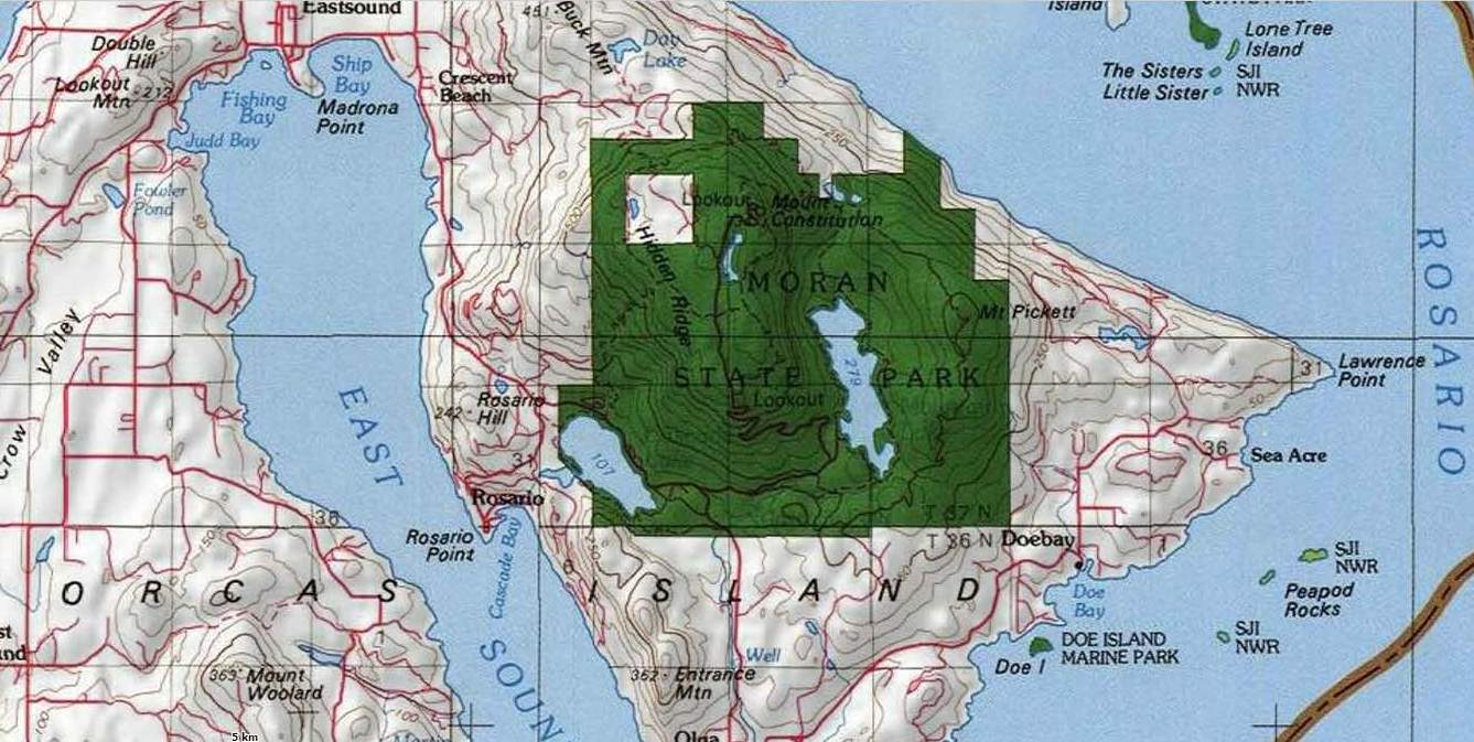 Language In 45 And 47 Stella Street: Reading The Washington Landscape: West Of Day Lake, Orcas