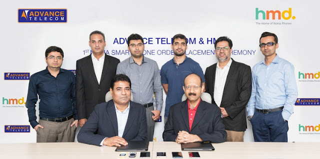 Advance Telecom to launch #Nokia Smart Phones in Pakistan in few days