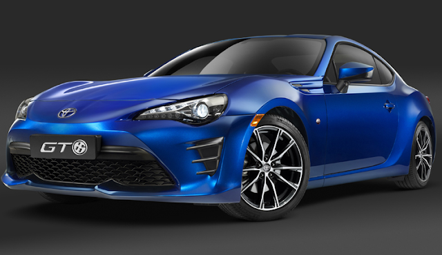 2018 Toyota GT86 Specs and Powertrain