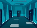 GenieFunGames Empty Corridor Escape Walkthrough
