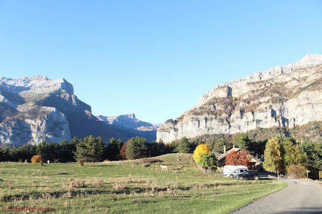 Valle de Hecho, Pirineu Aragonès, colors de tardor