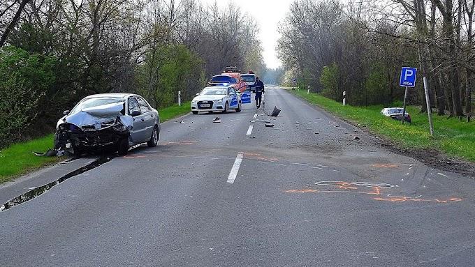 Baleset történt Szatymaz közelében, ketten megsérültek a balesetben