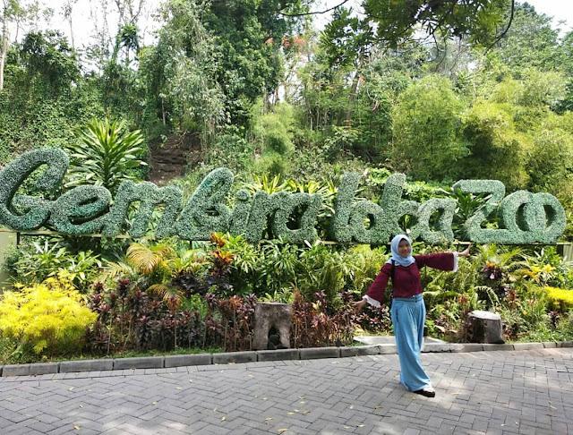 Gembiraloka Zoo menjadi tempat favorit liburan ahir tahun dan tahun baru